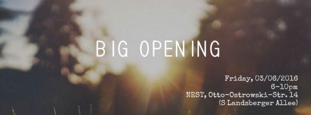 Big opening FOOD